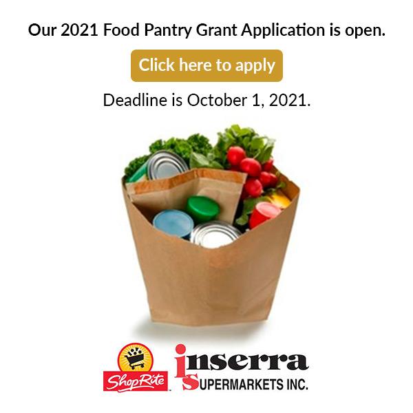2021 Food Pantry Grant Application